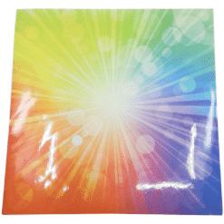 טפט מדבקה קרני אור צבעוני