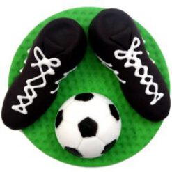 נעלי כדורגל מבצק סוכר
