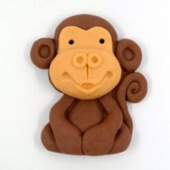 קוף מבצק סוכר