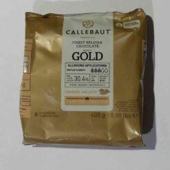 שוקולד קליבו- גולד 400 גרם