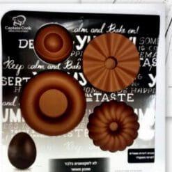 תבנית סיליקון להכנת מעמדים לביצים/ ליצירות שוקולד