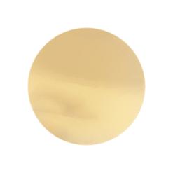 תחתית עגולה לעוגה קוטר 22- זהב כסף